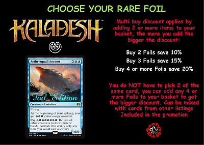 MTG Kaladesh KLD choose your Rare FOIL - New - Free 1st Class Post