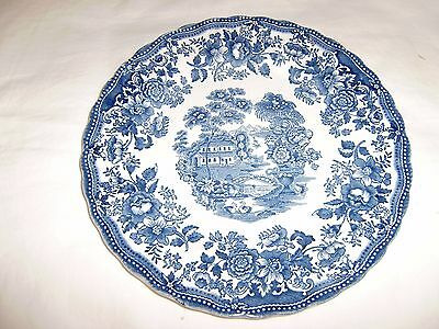 TONQUIN BLUE  by Myott Staffordshire 9 3/4 Inch Dinner Plate