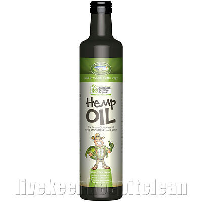 Hemp Foods Australia - Certified Organic Hemp Seed Oil - 250ml