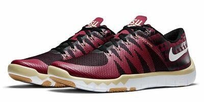 New Nike Free Trainer 5.0 V6 AMP Florida State Seminoles FSU Shoes Men's Sz  10