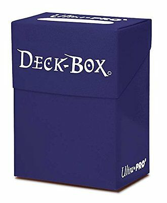 Deck Box for Trading Cards Ultra Pro Solid Deck Box (Solid Blue)