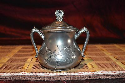 Westmister XXXX C.M.C. Silver-Plated Sugar Bowl