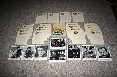 Force 10 From Navarone Movie Press Kit 8x10 Photos Harrison Ford Robert Shaw
