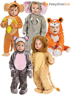 Boys Girls Baby Fancy Dress Up Animal Costume Infant Toddler 6 12 24 Months
