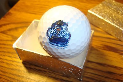 Vintage NHL National Hockey 2012 Winter Classic Collectable Display Golf Ball