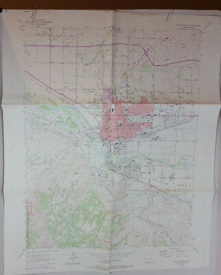 Vtg USGS Topo Map Grand Junction Quad Colorado Hunting Fishing