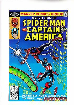 Marvel Team Up 106 Spider-Man and Captain America