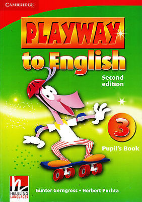 Cambridge PLAYWAY TO ENGLISH Level 3 Pupil's Book / Second Edition @NEW@