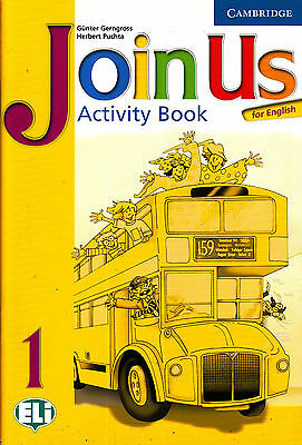 Cambridge JOIN US FOR ENGLISH Activity Book: Level 1 @BRAND NEW@
