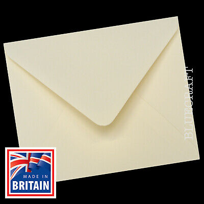 130mm Ivory Square Envelopes 5 inch - All Quantities