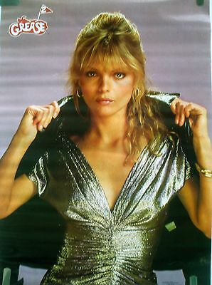 Rare Grease 2 Michelle Pfeiffer 1982 Vintage Original Movie Pin Up Poster