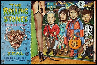 20x30 Poster The Rolling Stones Trick or Treat Oakland Stadium 1994 #RS1