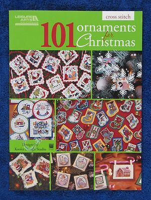 Cross Stitch Pattern 101 Ornaments for Christmas Santa Angel Nativity Tradition