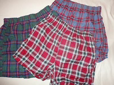 Lot of 3  NEW  Vintage Boys Fruit of the Loom  Boxer Shorts UNDERWEAR Large