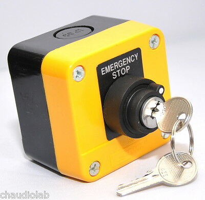 HQ Key Lock Power ON-OFF Key Switch with Maintained Key Type Station