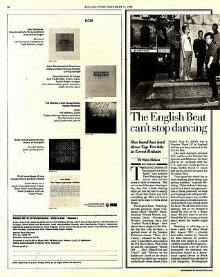 24 Article & Picture: The English Beat