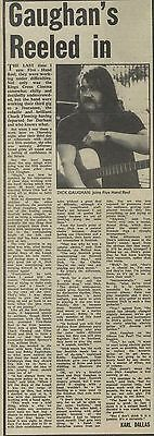 19/4/75Pmm60 Newspaper Clipping : Dick Caughan's Reeled In