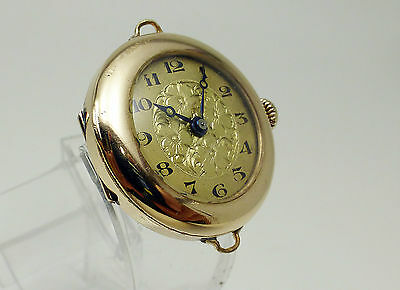 Gold Filled Vintage Ladies Swiss Movement Watch Unknown name