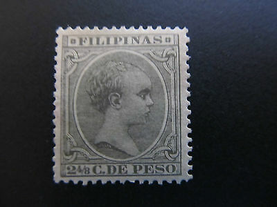 1890/97 - Philippines - King Alfonso Xiii - Scott 150 A36 2 4/8C