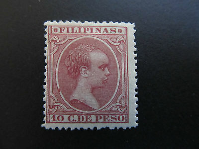 1890/97 - Philippines - King Alfonso Xiii - Scott 164 A36 10C