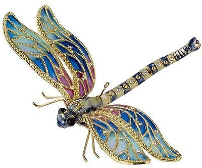 Kubla bejeweled Articulated  dragonfly ornament. Superb quality. Insects.