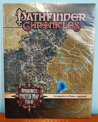Pathfinder Kingmaker Poster Map Folio - Near Mint