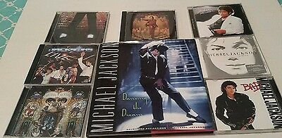 Micheal Jackson Dancing The Dream Book And Cd Collection