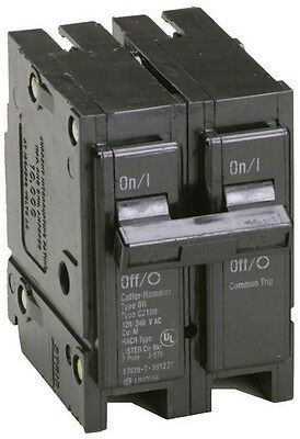 New Eaton 30 Amp 2-Pole 120/240 Type BR Circuit Breaker