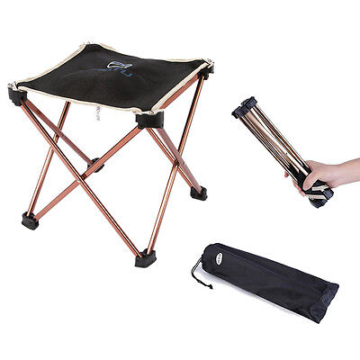 Stool Chair Seat Triangular Portable Folding Camping Outdoor Picnic Fishing BBQ