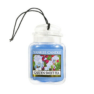 Yankee Candle Car Jar Freshener Ultimate Garden Sweet Pea Single 3D