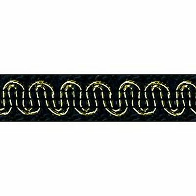"Upholstery Scroll Gimp Star Night 1/2"" Wide 36 yards 33 meters Furniture Trim"