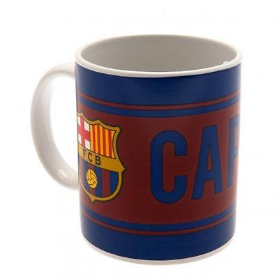 Official Licensed Football Product FC Barcelona Mug Captain Cup Tea Coffee New