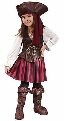 High Seas Pirate Girls Costume - Toddler (Large 3T-4T) New w/tags
