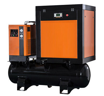 Air Compressor 7.5 Hp & Cooler & Filters - Wholesale prices - NEW - USCANPACK