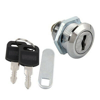 Professional Security Mailbox Mail Letter Box Lock with 2 Keys Stainless Set