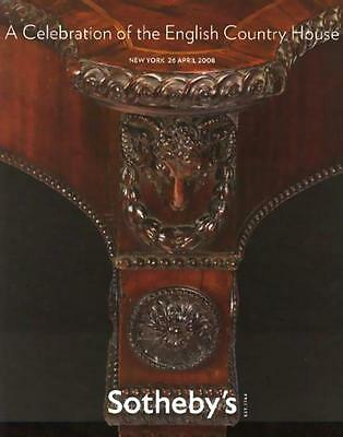 Sotheby's ||| English Country House Antique Sale Auction Catalog 2008