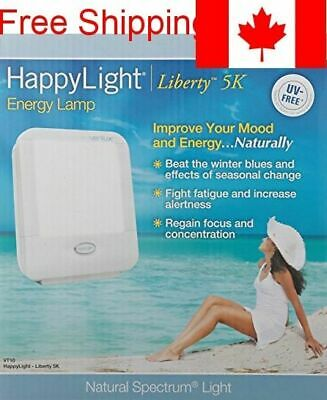 Verilux HappyLight Liberty Personal, Portable Natural Spectrum Energy Lamp