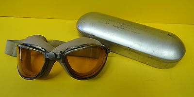 Sky Look Out Flying Goggles With Case-American Optical Company
