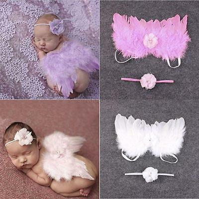 Feather Angel Butterfly Wings, Newborn, Baby, Photo prop Photography 0-18 Months
