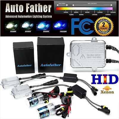 55W HID KIT Xenon Headlight Slim H1 H3 H7 H8 H9 H11 9006/HB4 9005/HB3 All Colors