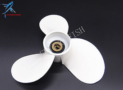 Aluminum Alloy Boat Motor Propeller 7 1/2x7-BA for Yamaha F6C F5A Outboard motor