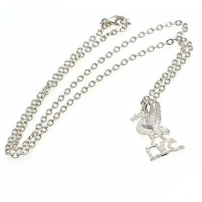 Official Licensed Product Liverpool Silver Plated Pendant and Chain LB Gift New
