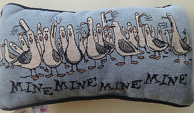 Mine Mine Mine Throw Pillow Seagulls Finding Nemo Disney World Theme Parks NEW