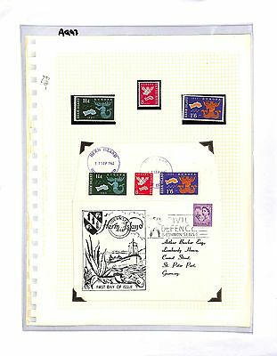 AQ93 1962 GB Herma Local Issues 'Europa' Cover + Stamps
