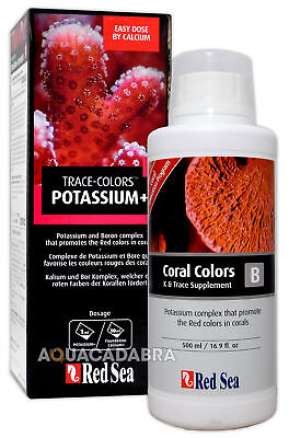 Red Sea Coral Colours B - Promotes Red Marine Reef Supplement Aquarium Fish Tank • EUR 17,63