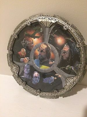 Hamilton Collection Star Trek: The Way Of The Warrior Collector Plate