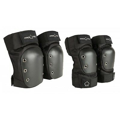 Pro-Tec Street Protective Knee Pad / Elbow Set - SKATEBOARD / BMX / SCOOTER