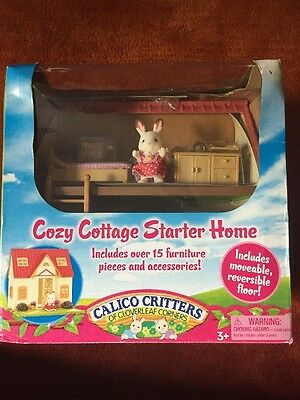 New Calico Critters Cozy Cottage Starter Home Furniture Set CC2055 4