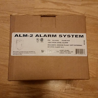 Liberty Pumps ALM-2 High Water Float Alarm Kit - New!