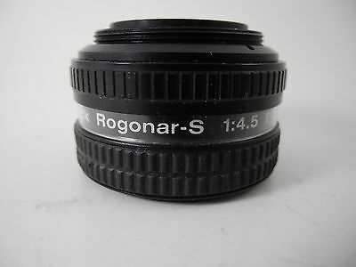Rodenstock Rogonar-S 60Mm/4.5 Sharp And Great For B&w Prints!!!!!